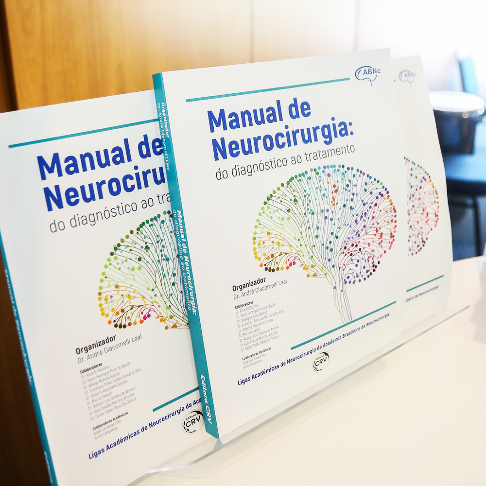 "Adquira seu ""Manual de Neurocirurgia"" pelo site"